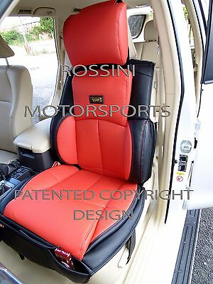 UNIVERSAL FRONT RED CUSHION PADDED SEAT COVERS CAR VAN BUS TRUCK TAXI MOTORHOME