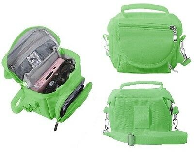 Green Travel Bag Carry Case For New 2015 Nintendo 3Ds And 3Ds Xl