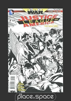 Justice League Of America #7 (Trinity) - Cover D (1:100) - Dc New 52