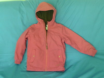 Girls 10 Years - Pink Hooded Lined Waterproof Rain Coat - Quechua