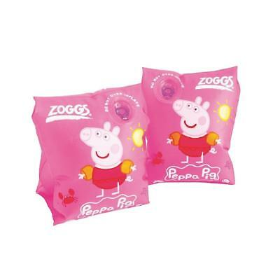Zoggs Baby Swimming Armbands (Peppa Pig) Size:3-6years