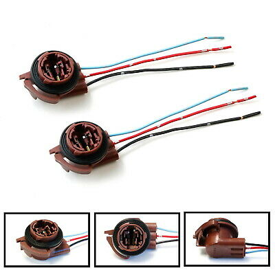 3156 3157 Pre-Wired Harness Sockets For Repair, Replacement, Install LED Bulbs
