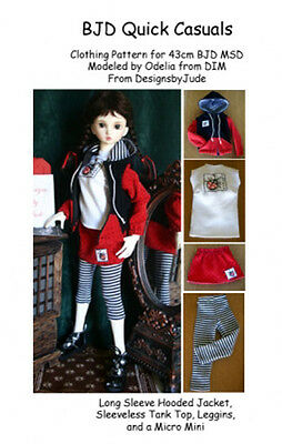 BJD104 Ship to Shore  Pattern  Ball Joint MSD Dollfie