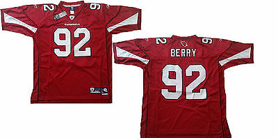 NFL Football Premier Trikot Jersey ARIZONA CARDINALS Bertrand Berry 92 rot