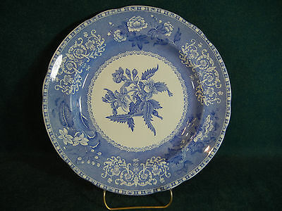 "Copeland Spode Blue Camilla Old Mark 9"" Luncheon Plate(s)"