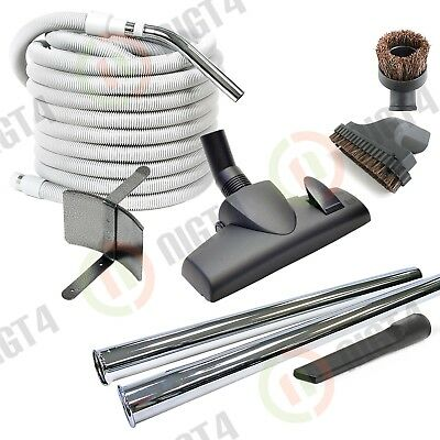 Deluxe Kit - 50 ft Central Vac Vacuum Hose & Attachments