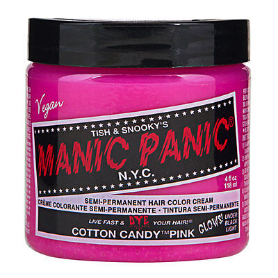 Manic Panic Classic Hair Dye Color Cotton Candy Vegan 118ml Manic-Panic