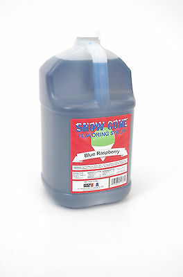 Benchmark Snow Cone Syrup - Blue Raspberry 72001 Snow Cone Syrup NEW