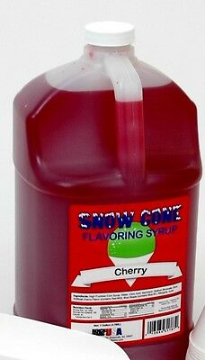 Benchmark Snow Cone Syrup - Cherry 72002 Snow Cone Syrup NEW
