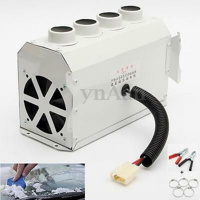 80°C 12V 150/300W Portable Car Tungsten Heater Thermostat Fan Defroster Demister