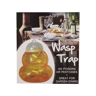 2 x Wasp Traps - Great For Wasp Free Garden Dining