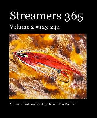 Streamers 365 Volumes 1 2 3 Pattern 1-366 Signed SC Trade Edition Fly tying book