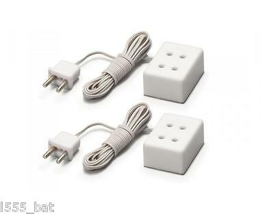 Hornby Skale Model Railway & Dolls House Electric Lighting R8949 Double Sockets
