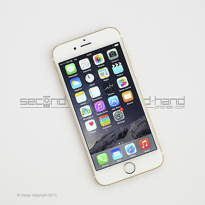 Apple iPhone 6 16GB Gold Factory Unlocked SIM FREE Grade A Excellent  Smartphone