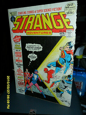 1972 Strange Adventures Featuring The Justice League # 235 52 Page Dc Adventures