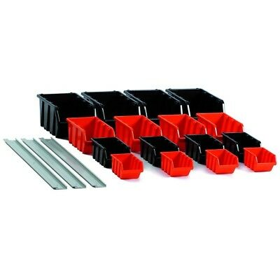 19 pieces Viewing Boxes Small Parts Store Viewing Boxes Stackable Sorting Boxes