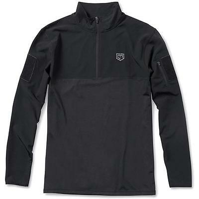 Cannae The Centurion Performance Pullover, Black, Large