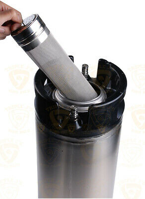 300 Micron Stainless steel Keg Dry Hopper Filter hoping Home Brew