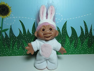 """EASTER BUNNY - 5"""" Dam Troll Doll - Excellent Condition"""