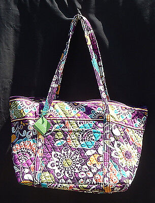 "Vera Bradley Miller Bag in ""PLUM CRAZY"" - New With Tags!"