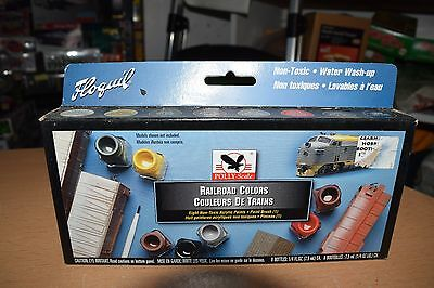 Floquil Model Railroad Colors 490001 Kit Set NEW IN BOX