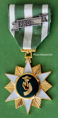 Vietnam Campaign Medal (VCM)  Full Size with date bar - Mil Spec - USA Made v1