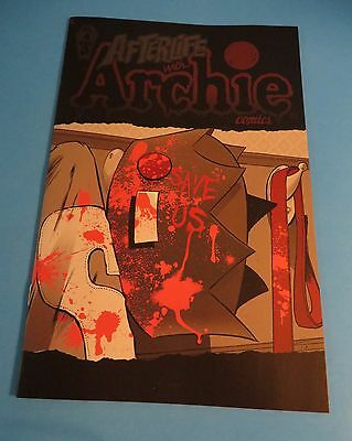 2014 Afterlife With Archie No.4 Lot Of 2 Variant Covers Zombies