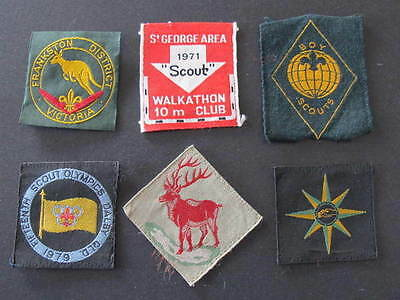 Dalby Qld St George Area Frankston etc Scouts Badges