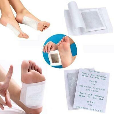 100Detox Foot Pads Patch Detoxify Toxins Keeping Fit Health Care with Adhesive