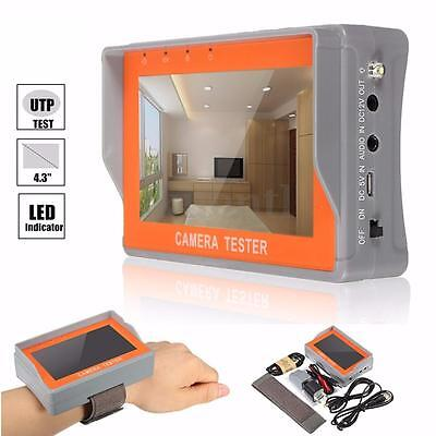 4.3'' TFT LCD Color Monitor CCTV Camera Video Audio Security Tester UTP Test