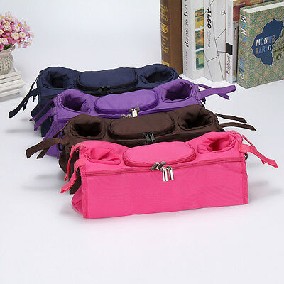 New Baby Stroller Organizer Bottle Cup Bag Stroller Accessories Baby Pram Bag