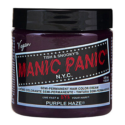 Manic Panic Classic Hair Dye Color Purple Haze Vegan 118ml Manic-Panic