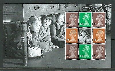 Great Britain 2010 Britain Alone Definitive Pane Unmounted Mint, Mnh
