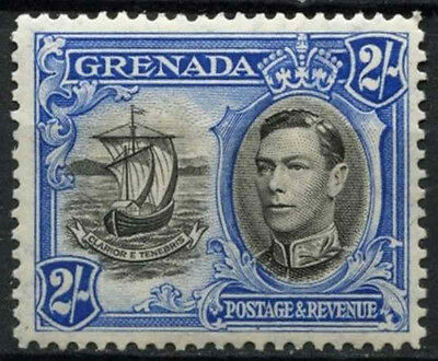 Grenada 1938-50 SG#161, 2s Black And Ultramarine KGVI MH Definitive #D23618