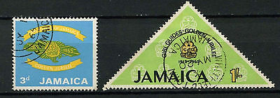 Jamaica 1965 SG#240-1 Girl Guides Used Set #D23269