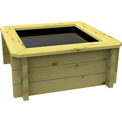 1m x 1m, 44mm Wooden Pond 697mm High