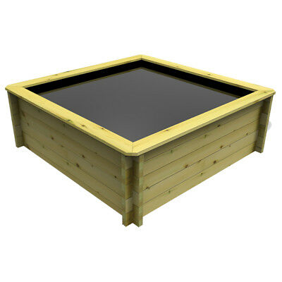 1.5m x 1.5m, 44mm Wooden Pond 697mm High