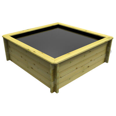 2m x 2m, 44mm Wooden Pond 697mm High
