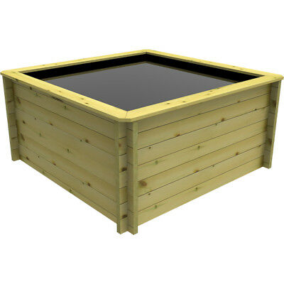 2m x 2m, 44mm Wooden Pond 831mm High