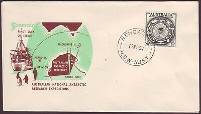 1954 Aat On Unaddressed Royal First Day Cover (Ru1482)