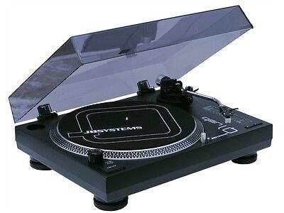 JB Systems - Q1 USB DJ Plattenspieler / Turntable inkl. Software