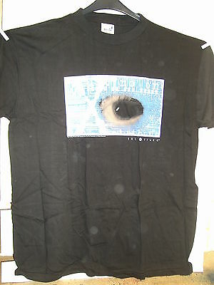 Vintage T-Shirt: X-Files - Slogans With Eye (XL) (USA, 1995)