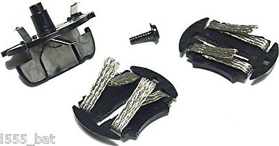 New Scalextric C8330 Drift Guide Blade Pickups With 2 Braid Plates 360' Spinning