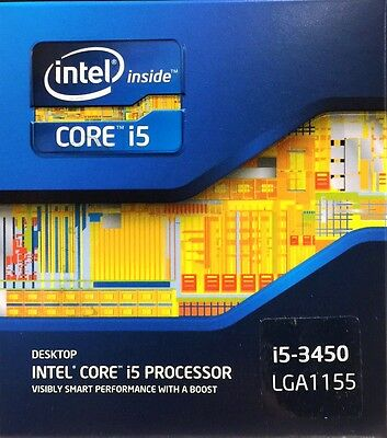 Intel BX80637I53450 SR0PF Core i5-3450 Processor 6M Cache up to 3.50 GHz NEW