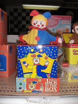 Toy Schylling Jack In The Box Jester  New Gift