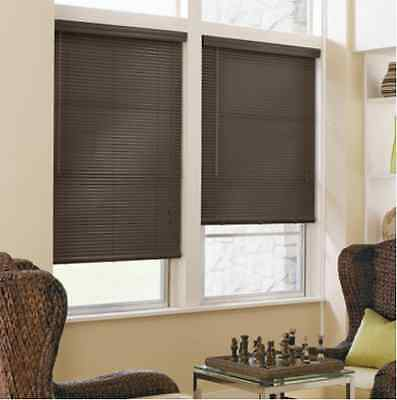"""NEW with DEFECTS JCPenney Home 1"""" Aluminum Horizontal Blinds Window Treatment"""