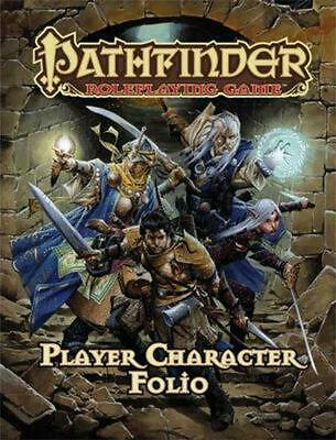 Pathfinder Roleplaying Game Player Character Folio by Jason Bulmahn (English) Pa