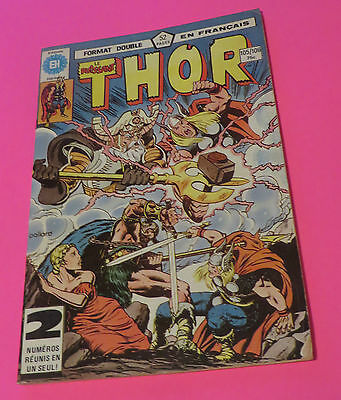 1981 Le Puissant Thor  #105&106 Double Issue Héritage French Edition