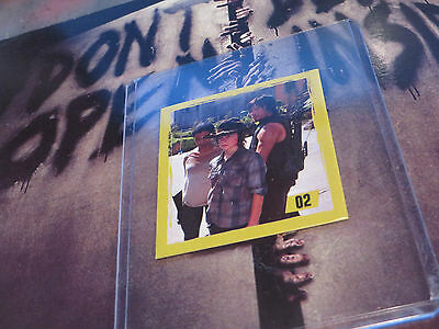 2014 The Walking Dead Trading Sticker From Argentin ' Carl ' #02 Free*