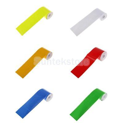 Car High Visibility Reflective Safety Warning Conspicuity Tape Sticker Decal 3M